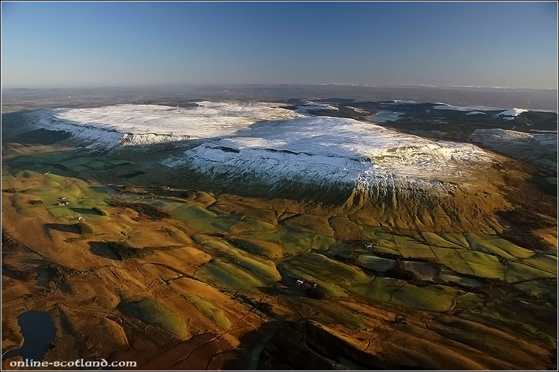Aerial Photo of the Campsie Fells